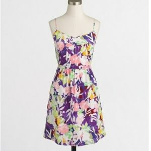 J.Crew Floral Print Seaside Cami Dress